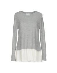 Axara Paris Sweaters Light Grey