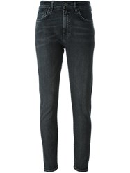Levi's Made And Crafted 'Twig' Cropped Jeans Black