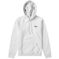 Raised By Wolves Pvc Logo Hoody Grey