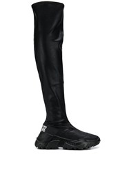 Versace Jeans Couture Knee High Sporty Boots 60