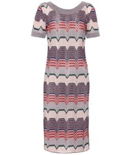 Missoni Brocade Silk Dress Multicoloured