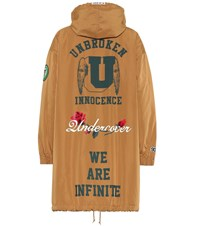 Undercover Printed Parka Brown