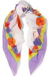 Emilio Pucci Printed Cotton Gauze Pareo Multi