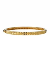 Roberto Coin Pyramid Stud Bangle In 18K Yellow Gold