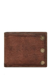 Star Usa By John Varvatos Slim Leather Billfold Brown