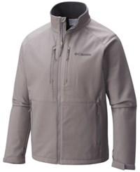 Columbia Men's Get A Grip Thermal Coil Softshell Jacket Boulder