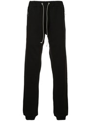 Mr. Completely Drawstring Fitted Trousers Black