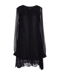 By Ti Mo Short Dresses Black