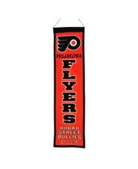 Winning Streak Philadelphia Flyers Heritage Banner Orange Black