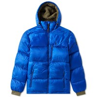Polo Ralph Lauren Hooded Down Jacket Blue