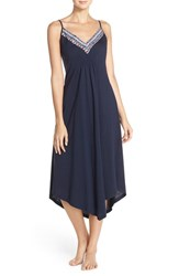 Women's Lucky Brand 'Easy Breezy' Jersey Maxi Chemise
