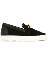 Giuseppe Zanotti Design Slip On Sneakers Black