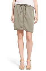Women's Caslon Easy Drawstring Skirt Olive Tarmac