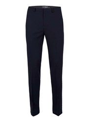 Topman Blue Navy Skinny Fit Suit Pants
