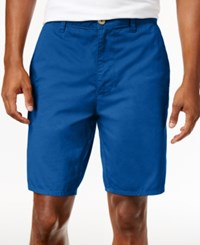 American Rag Men's Stretch Twill Shorts Only At Macy's Riviera