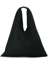 Maison Martin Margiela Mm6 Shopper Tote Black
