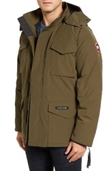 Canada Goose Men's 'Constable' Regular Fit Water Resistant Down Parka Military Green
