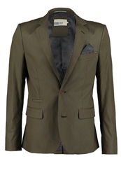 Pier One Suit Jacket Olive Green