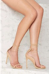 Nasty Gal Easily Swayed Lace Up Heel
