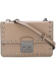 Michael Michael Kors Small 'Sloan' Crossbody Bag Grey