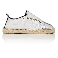 Manebi Women's Los Angeles Espadrille Sneakers Silver