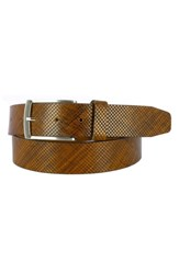 Remo Tulliani Dodge Embossed Leather Belt