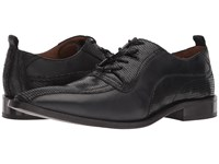 Giorgio Brutini Gloster Black Lace Up Wing Tip Shoes