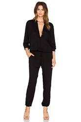 Indah Pinnacle Utility Jumpsuit Black