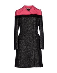 Vdp Collection Coats Fuchsia