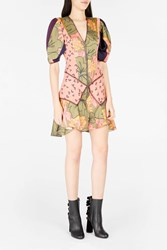 Roksanda Ilincic Women S Hirani Floral Print Silk Dress Boutique1 Wfloral O
