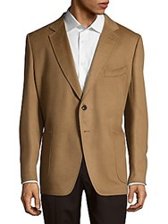 Tom Ford Cashmere Notch Lapel Jacket Brown