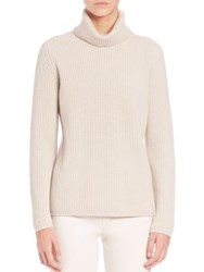 Max Mara Ussita Wool And Cashmere Turtleneck Sweater Ivory