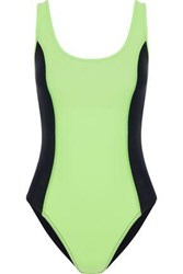 Y 3 Two Tone Swimsuit Black