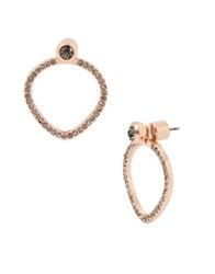 Kenneth Cole Supercharged Rose Gold Drop Earrings