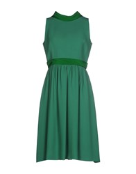 Dice Kayek Dresses Knee Length Dresses Women Green