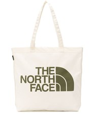 The North Face Logo Print Canvas Tote 60