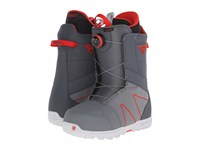 Burton Highline Boa '16 Gray Red Men's Cold Weather Boots