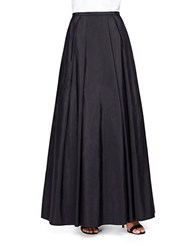 Alex Evenings Taffeta Maxi Skirt Black