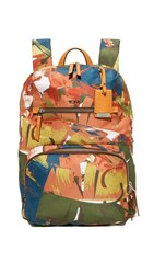 Tumi Halle Backpack Banana Leaf Print