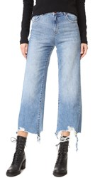 Dl1961 Hepburn High Rise Wide Leg Jean Slate