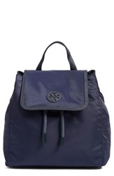 Tory Burch Small Scout Nylon Backpack Blue Tory Navy
