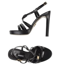 Dirk Bikkembergs Sandals Black