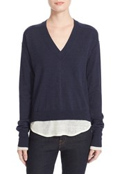 Brochu Walker Women's Cardwell Layered Merino Wool Pullover