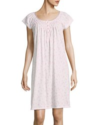 Miss Elaine Floral Print Nightgown Pink Floral