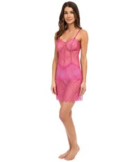 B.Tempt'd B.Sultry Chemise Rose Violet Women's Pajama Purple