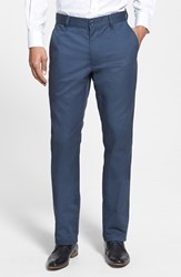 Men's Rvca 'The Weekend' Slim Straight Leg Chinos Midnight