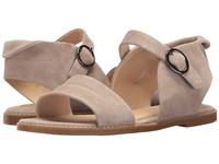 Hush Puppies Abia Chrissie Vl Light Taupe Suede Women's Sandals Tan