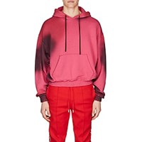 Off White C O Virgil Abloh Cotton French Terry Hoodie Pink