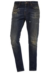 Ltb Louis Slim Fit Jeans Arvo Wash Dark Blue Denim