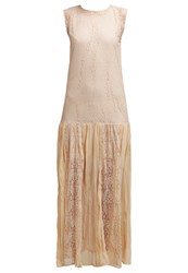 Minimum Apollonia Maxi Dress Moonlight Beige